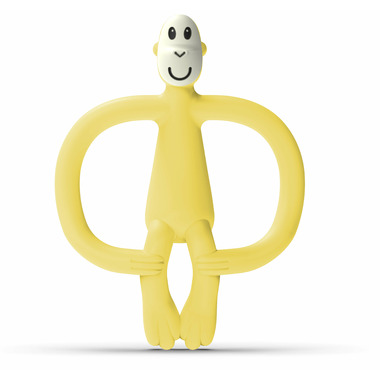 Matchstick Monkey Teething Toy No Tail Yellow