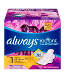 Always Radiant Infinity Regular Scented With Wings