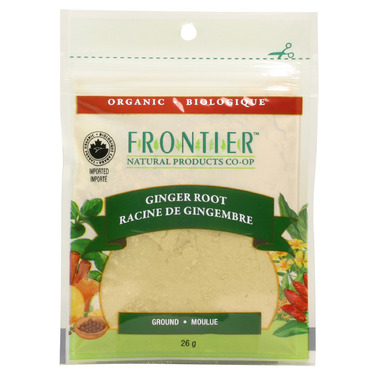 Frontier Natural Products Organic Ground Ginger Root