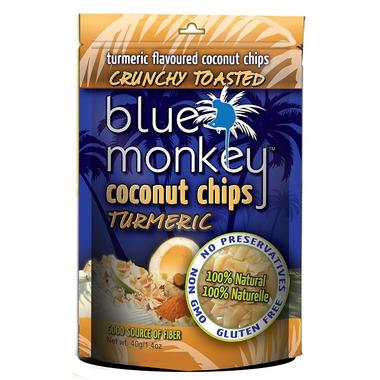 Blue Monkey Tumeric Coconut Chips