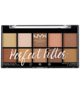NYX Perfect Filter Shadow Palette Golden Hour
