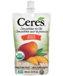 Ceres Organic Smoothie To Go Mango