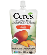 Ceres Organic Smoothie To Go Mango