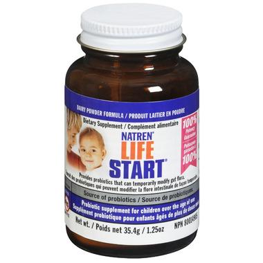 Natren Life Start (Dairy-Based) Probiotic Powder