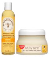 Burt's Bees Baby Bee Skincare Bundle
