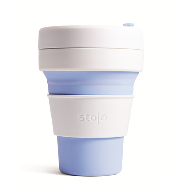 Stojo Collapsible Pocket Cup Sky