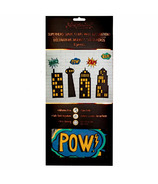 Great Pretenders Static Cling Decorations Bubbles and buildings