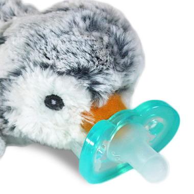 RaZbaby RaZBuddy Paci JollyPop Grey Penguin