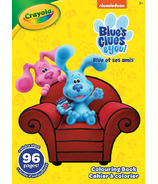 Crayola 96 Page Blue's Clues Colouring Book