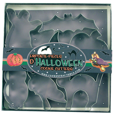 Hallowe\'en Cookie Cutters