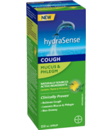 hydraSense Mucus & Phlegm Cough Syrup Non-Drowsy