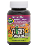 Nature's Plus Animal Parade Sugar Free Children's Chewable Multi-Vitamins