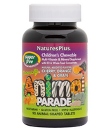 Nature's Plus Animal Parade Sugar Free Children's Chewable Multi-Vitamins