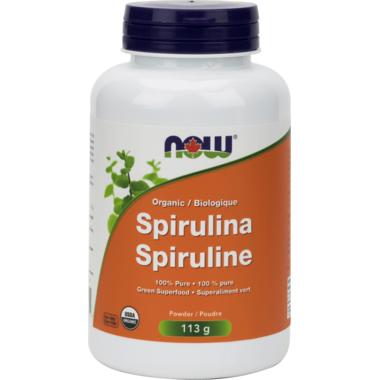 NOW Foods 100% Pure Spirulina Powder