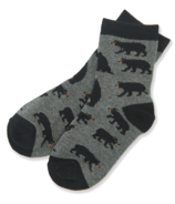 Hatley Charcoal Bears Kids Socks