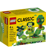 LEGO Classic Creative Green Bricks Kids' Building Kit Starter Set