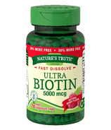 Nature's Truth Fast Dissolve Ultra Biotin 5000mcg