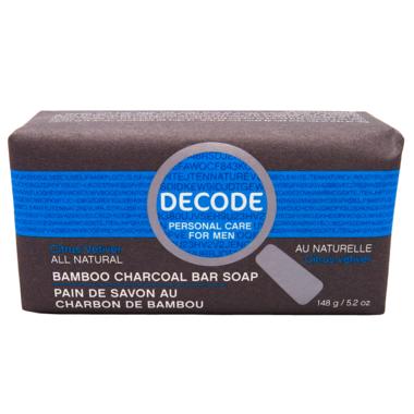 DECODE Lemongrass Sandalwood Cleansing Bar