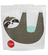 3 Sprouts Sandwich Bag Sloth 2 Pack