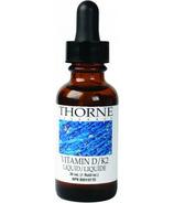 Thorne Research Liquid D/K2 Vitamin