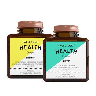 Well Told Health Sleep & Energy Bundle
