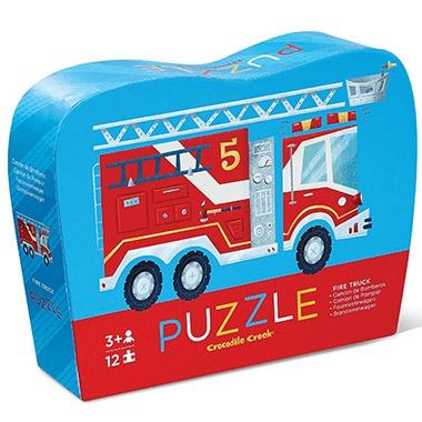 Crocodile Creek Mini Puzzle Fire Truck