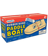 Schylling Classic Wooden Toy Rubber Band Paddle Boat