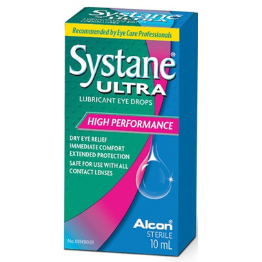Systane Ultra Lubricant Eye Drops High Performance