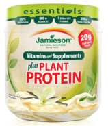Jamieson Essentials plus Plant Based Protein Vanilla Maple