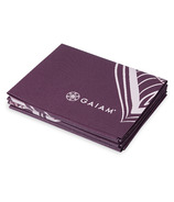 Gaiam 2mm Foldable Yoga Mat Cranberry Point