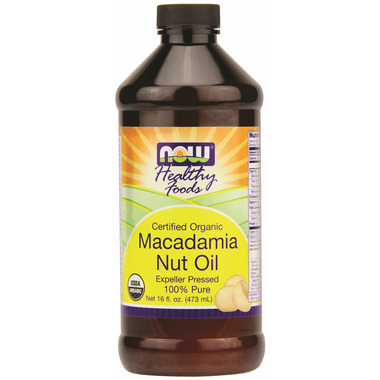 NOW Real Food Macadamia Nut Oil
