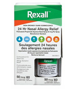 Rexall 24Hr Nasal Allergy Relief Spray 50mcg