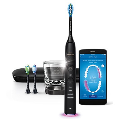 Philips Sonicare DiamondClean Connected Handle Black