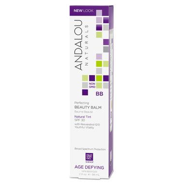 ANDALOU naturals Perfecting BB Beauty Balm Natural Tint SPF 30