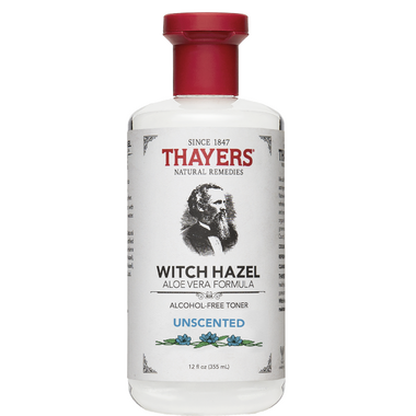 Thayers Unscented Witch Hazel with Aloe Vera Alcohol-Free Toner