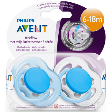 Philips AVENT Freeflow Silicone Pacifier