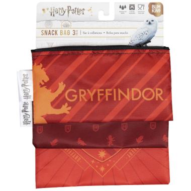Bumkins Harry Potter Reusable Snack Bag Gryffindor