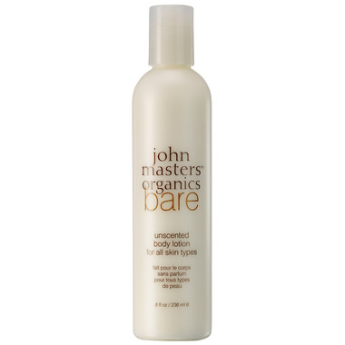 John Masters Organics Bare Unscented Body Lotion for All Skin Types
