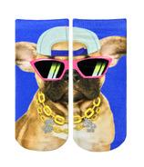 Living Royal Ankle Socks Pup Life Glitter