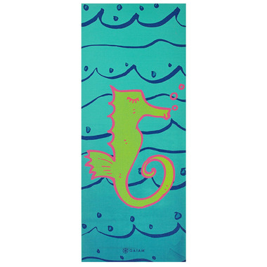 Gaiam Kids Printed Yoga Mat Seahorse