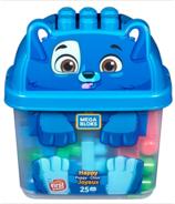 Mega Bloks First Builders Happy Puppy Bucket