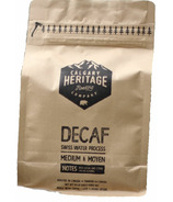 Calgary Heritage Roasting Co. Decaf Whole Bean Coffee
