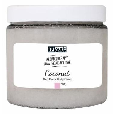 Nuworld Botanicals The Blending Bar Coconut Salt-Balm Body Scrub