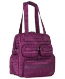 Lug Puddle Jumper Gym/Overnight Bag Berry Purple