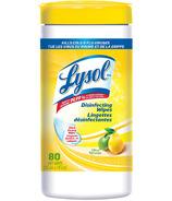 Lingettes désinfectantes aux agrumes de Lysol