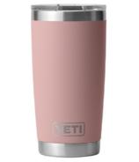 YETI Rambler Tumbler Sandstone Pink