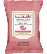 Burt's Bees Facial Cleansing Towelettes with Pink Grapefruit, 30