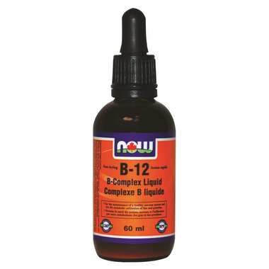 NOW Foods B-12 B-Complex Liquid