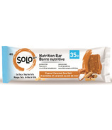 SoLo Gi Dark Peanut Caramel Sea Salt Nutrition Bars