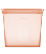 Zip Top Sandwich Bag Peach